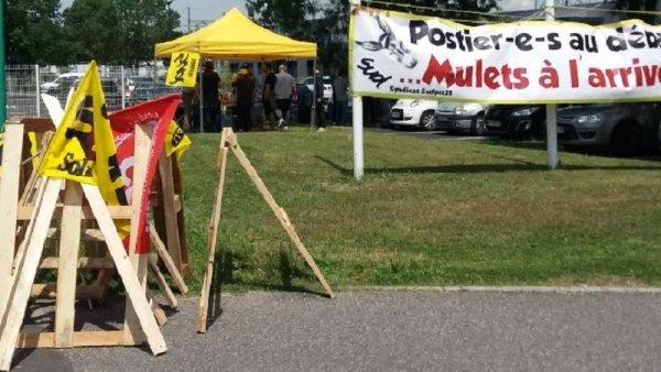 Grève des postiers de Castanet-Tolosan : Mépris total de la part de la direction