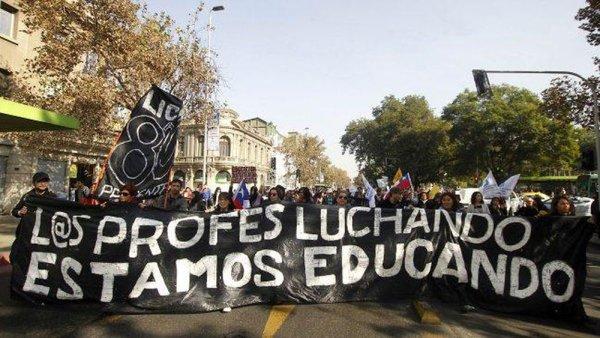 Grève des enseignants au Chili : « c'est une bataille contre l'héritage de Pinochet »