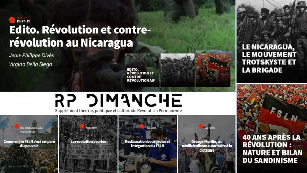 RP Dimanche #22 | 40ème anniversaire de la révolution sandiniste