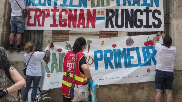 Perpignan-Rungis : la ligne toujours plus menacée malgré les promesses de la SNCF
