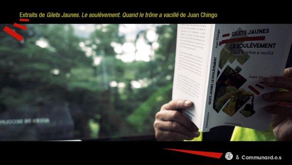 Rentrée littéraire | Teaser | Gilets jaunes. Le soulèvement, par Juan Chingo