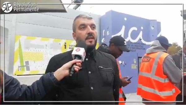 VIDEO. Grève SNCF à Châtillon : soutenez les grévistes !