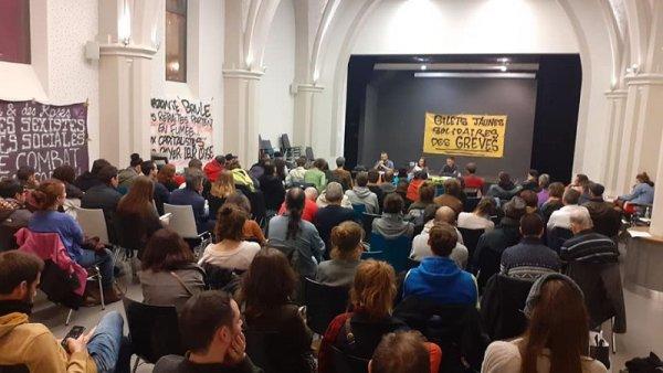 Toulouse. Une centaine de personnes à la réunion publique « Des Gilets jaunes à la Grève générale »