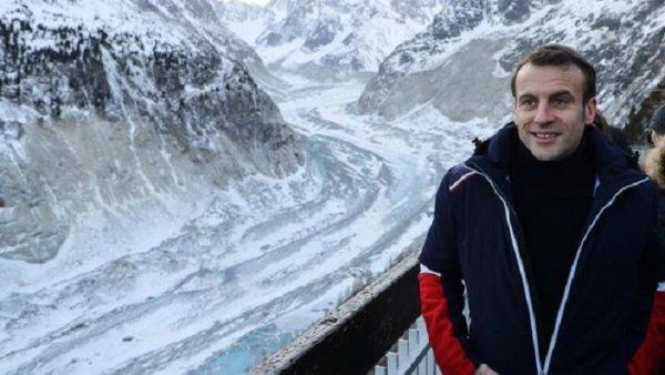 Macron au Mont-Blanc : fausse écologie, vrai désastre
