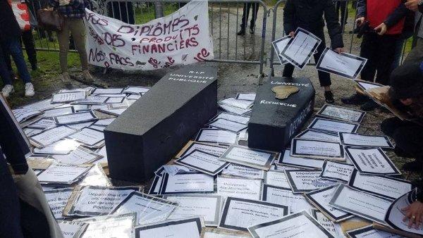 Université Bordeaux Montaigne : après la mobilisation du 5 mars, la répression du mouvement !