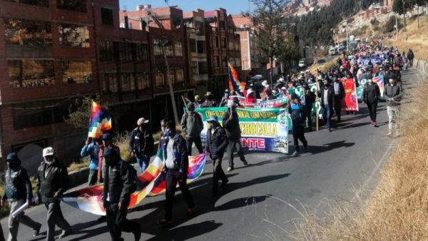 Bolivie. Mobilisation des classes populaires et des travailleurs contre le gouvernement putschiste d'Áñez