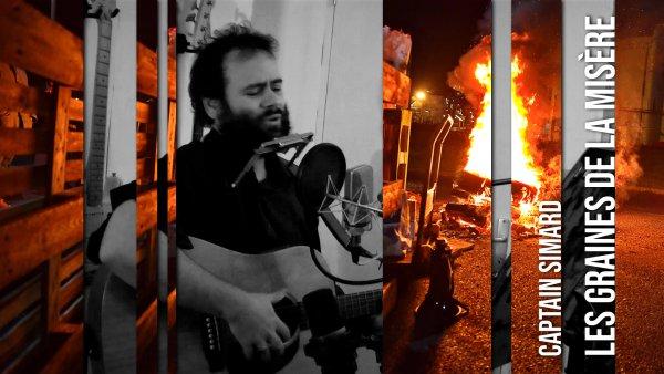 Captain Simard, « Les graines de la misère » : une chanson en soutien aux raffineurs en grève