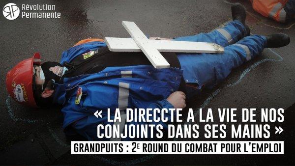 Reportage. Grandpuits, 2e round : « La DIRECCTE a la vie de nos conjoints dans ses mains »