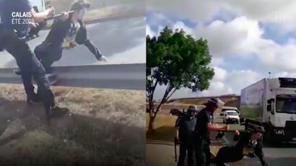 Impunité policière à Calais : du sursis pour un policier qui avait tabassé un bénévole, ses collègues relaxés
