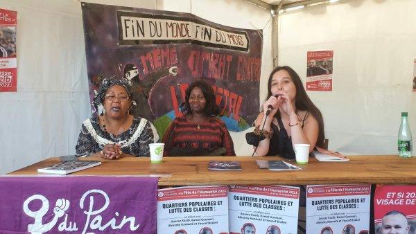 Féminisme révolutionnaire : DPDR à la Fête de l'Huma avec des ex-grévistes d'ONET