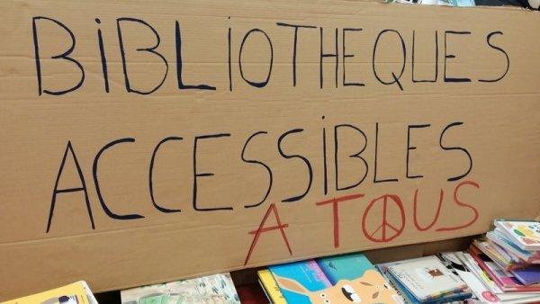 « Le service public doit être accessible à tous » : les bibliothécaires en grève contre le pass sanitaire