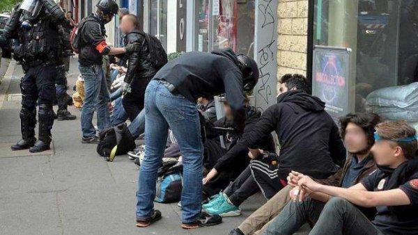 Nantes. 66 manifestants interpellés après la mobilisation interdite du 19