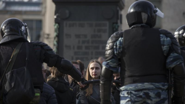 Russie : plus de 1000 manifestants contre la corruption arrêtés !