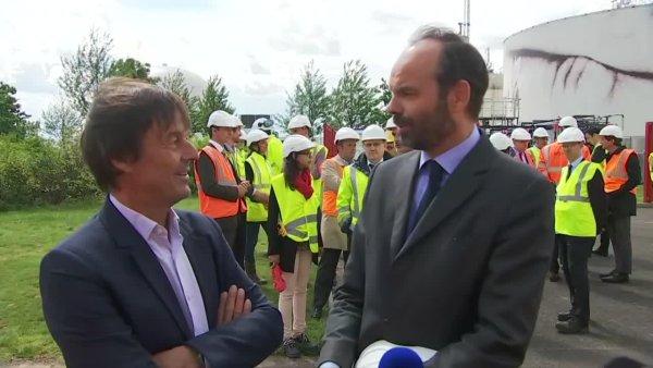 Entre nucléaire et Notre-Dame-des-Landes, un Hulot plus si vert que ça