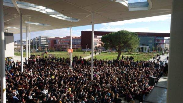 En direct. Plusieurs milliers d'étudiants en Assemblée Générale à Toulouse