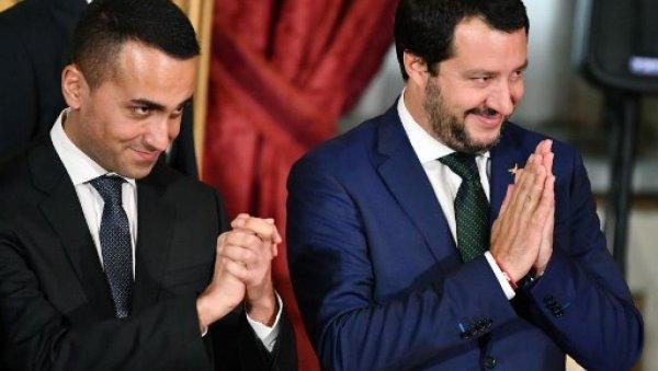 Non, Salvini et Di Maio ne sont pas des soutiens pour les Gilets Jaunes !