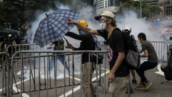 Hong-Kong. La police réprime les manifestants opposés à la loi d'extradition