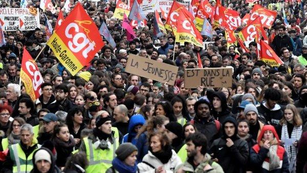 CGT, FO, FSU, Solidaires et des organisations de jeunesse appellent à une grève interpro le 5 décembre