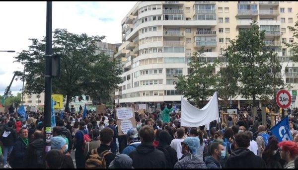 Mobilisation dans la santé. A Rennes, rassemblement réussi mais le départ en manifestation empêché par les CRS