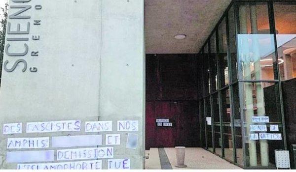 Sciences Po Grenoble. Campagne réactionnaire contre l'UNEF : Vidal pave la voie à l'extrême-droite