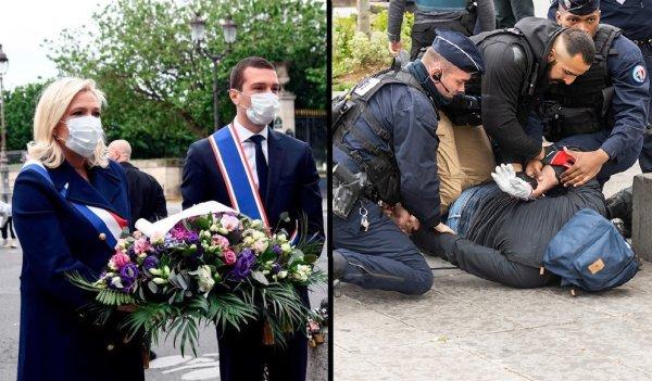 1er Mai. Pendant que Marine Le Pen se pavane à Paris, la répression pour les manifestants