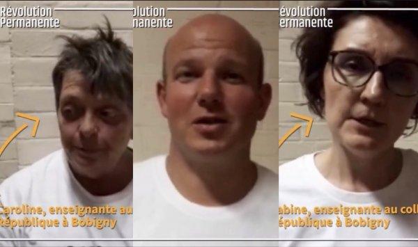 VIDEO. Bobigny, trois enseignants syndicalistes face à la loi Blanquer
