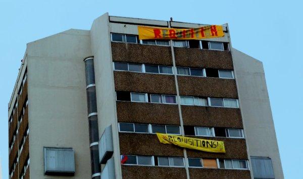 Saint-Ouen. Le foyer de jeunes travailleurs Cara occupé par 150 mal-logés et réfugiés