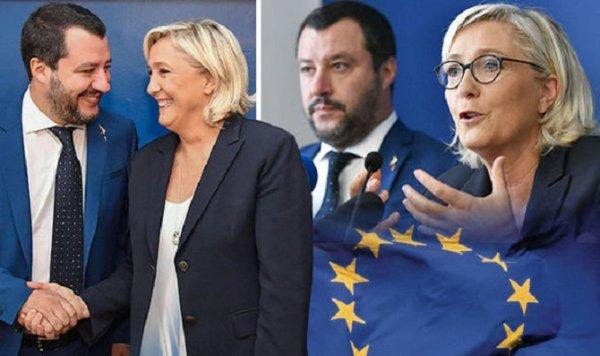 Revenu « universel » sous conditions et budget pro-UE : le « modèle » italien de Marine le Pen