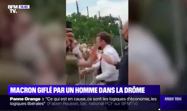 Gifle d'un royaliste : aucun front commun avec Macron pour lutter contre l'extrême droite !