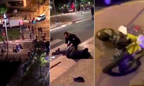 Villeneuve-la-Garenne. Un homme grièvement blessé, fauché par la portière d'une voiture de police