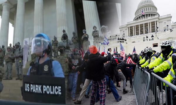 La police qui a laissé faire l'intrusion au Capitole est la même qui a réprimé Black Lives Matter