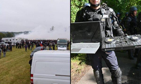 Grenades et LBD : un jeune de 22 ans se fait arracher la main à la rave-party de Redon