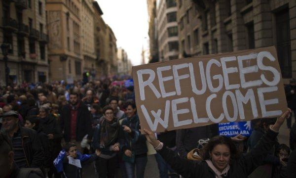 Barcelone. 160 000 personnes ont manifesté pour l'accueil des réfugiés