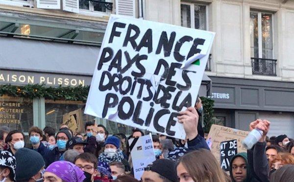 Loi Sécurité Globale. L'article 23 vise aussi à satisfaire la police