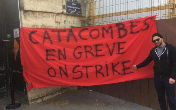 Communiqué des catacombes en grève : Le conflit se durcit