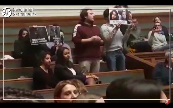 Blessés et mutilés : un étudiant interpelle Castaner en plein colloque à la Sorbonne