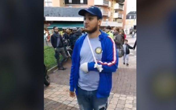 VIDEO. « On va rentrer au poste, je vais te défoncer la gueule », un policier à Taha Bouhafs