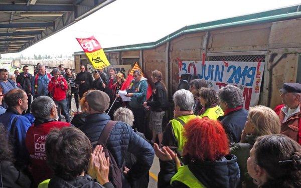 Nouveau sursis pour le train des primeurs Perpignan-Rungis