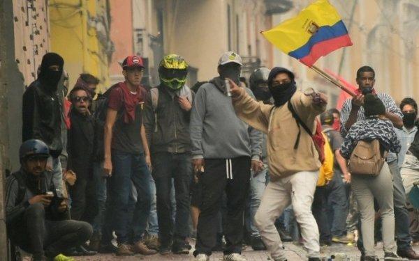 Equateur : Les manifestations contre les plans du FMI remettent en question l'état d'urgence.