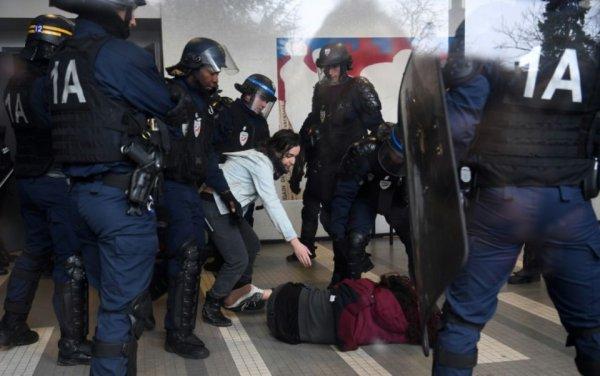 Menaces de violences policières à Strasbourg et Tolbiac