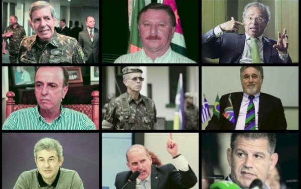 Plusieurs généraux pour gouverner le Brésil aux côtés de Bolsonaro