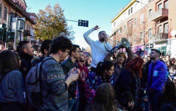 Interview. En Albanie aussi, les étudiants mobilisés en masse contre la hausse des frais d'inscription