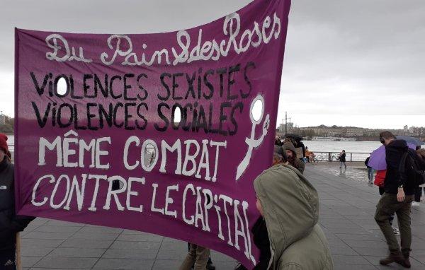 VIDEO. « Solidarité avec les femmes du monde entier », un 23 novembre sous le signe de l'internationalisme