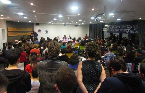 « Les femmes en première ligne » : salle comble pour la conférence d'Andrea d'Atri à Toulouse