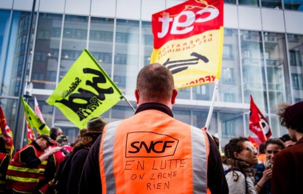 Macron à Strasbourg : la manifestation des cheminots est interdite !