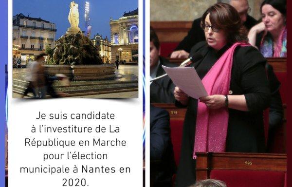Une députée LREM annonce sa candidature à Nantes en postant une photo de Montpellier