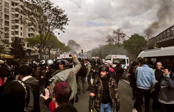 #1erMai. A Paris la police fait tout pour que la manif dégénère