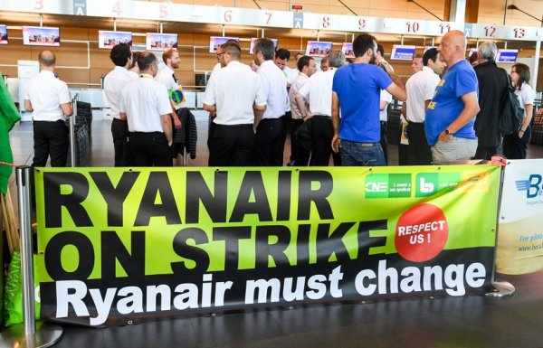 Grève chez Ryanair : 48 vols annulés en Belgique