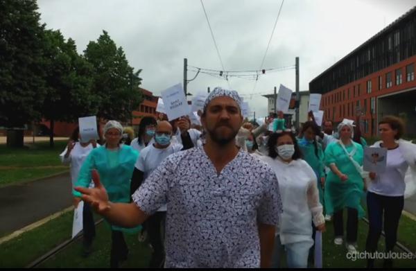 Clip et punchlines au CHU de Toulouse. Orelsan inspire les luttes des hospitaliers.