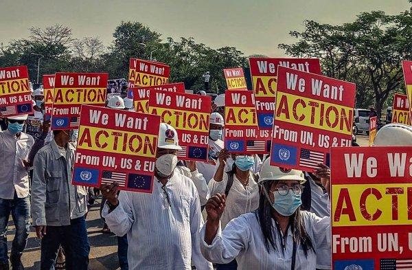 Myanmar. Non, les Etats-Unis, l'UE et l'ONU ne sont pas des alliés de la lutte contre le coup d'Etat